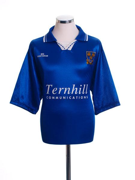 1996-97 Shrewsbury Home Shirt L