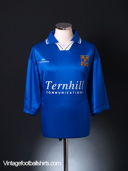 1996-97 Shrewsbury Home Shirt *As New* XL