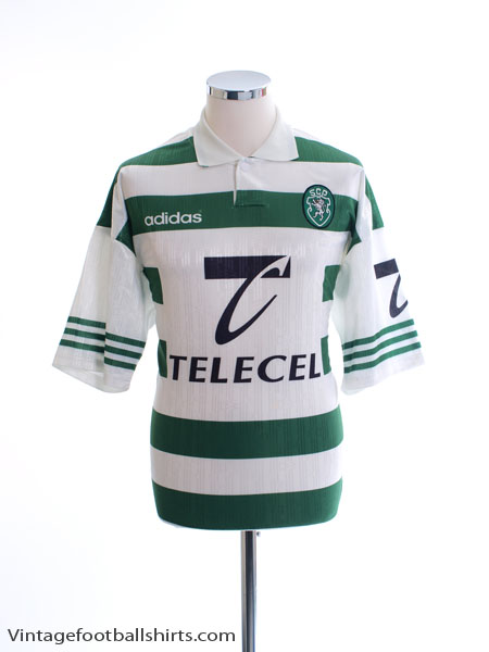 1996-97 Sporting Lisbon Home Shirt XL