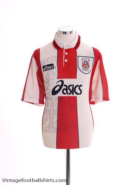1996-97 Stoke City Home Shirt L