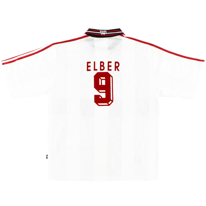 1996-97 Stuttgart Home Shirt Elber #9 XL