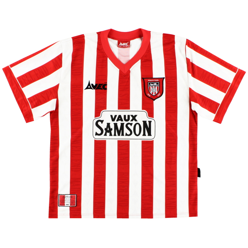 1996-97 Sunderland Home Shirt L