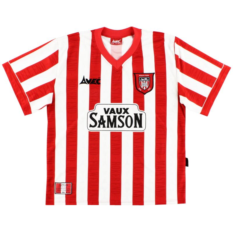 1996-97 Sunderland Home Shirt Y