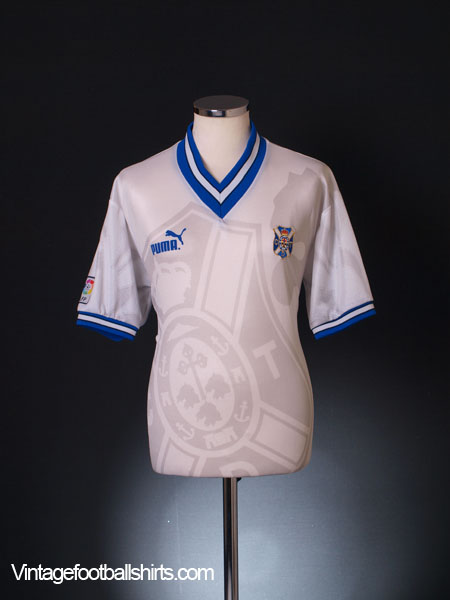 1996-97 Tenerife Home Shirt L