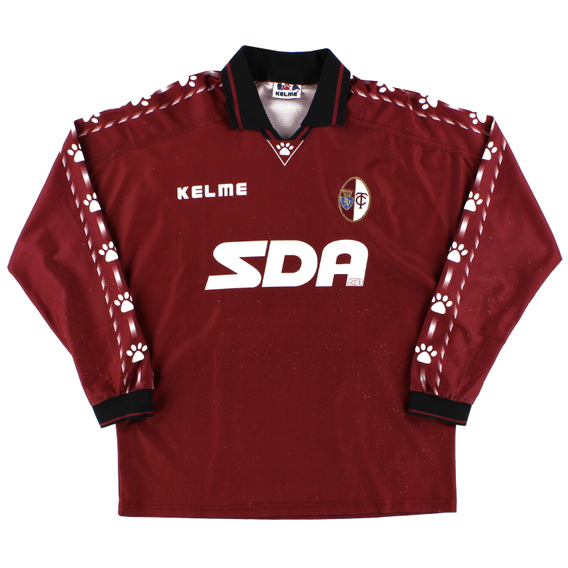 1996-97 Torino Match Issue Home Shirt #13 L/S S
