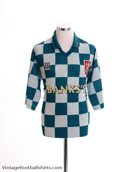1996-97 Walsall Away Shirt M