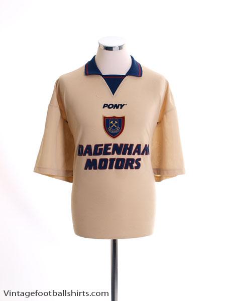 1996-97 West Ham Third Shirt L