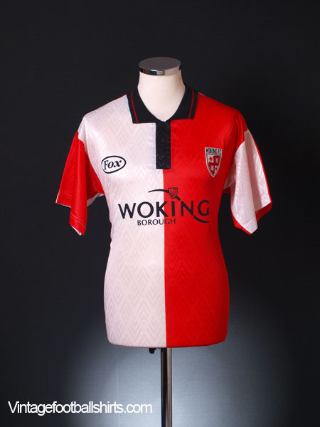 1996-97 Woking Home Shirt M