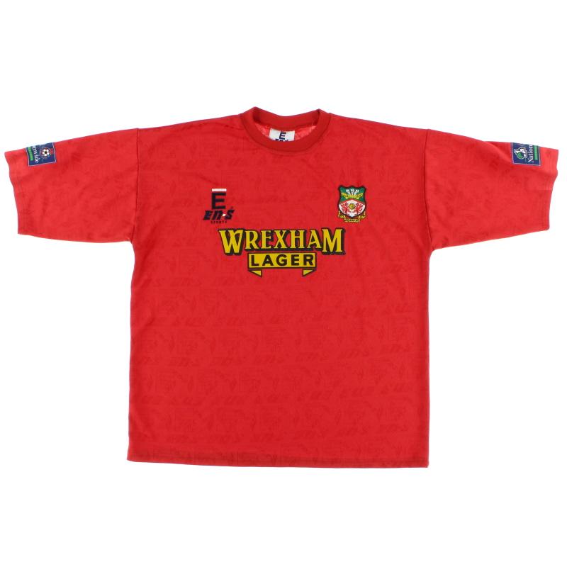 1996-97 Wrexham Home Shirt *Mint* XL