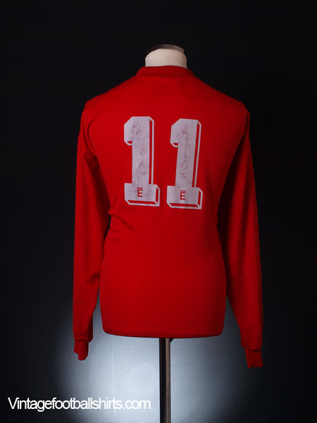1996-98 Accrington Stanley Match Issue Home Shirt #11 L