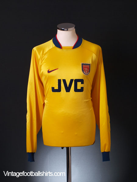 1996-98 Arsenal Goalkeeper Shirt XL