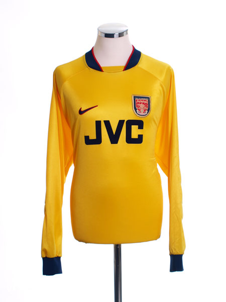1996-98 Arsenal Goalkeeper Shirt L