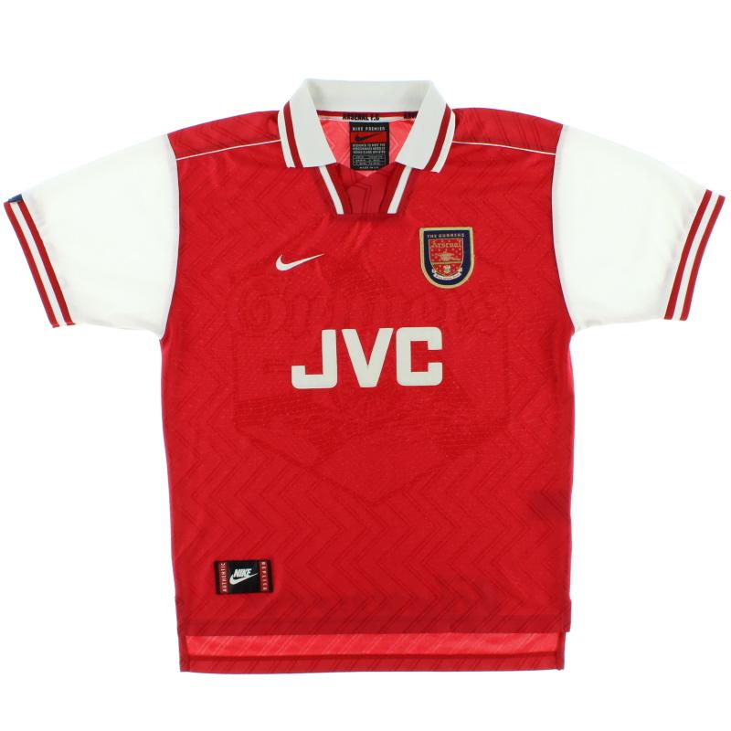 1996-98 Arsenal Nike Home Shirt L
