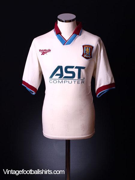 1996-98 Aston Villa Away Shirt S