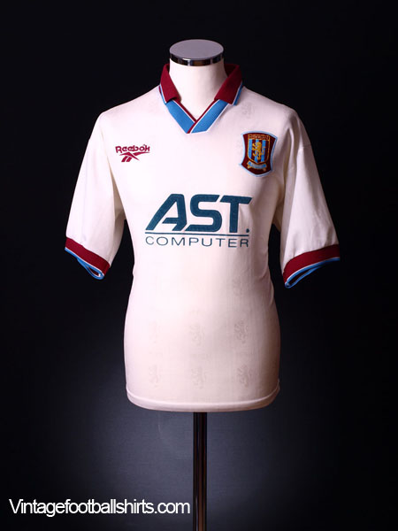 1996-98 Aston Villa Away Shirt XL