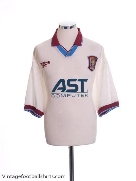 1996-98 Aston Villa Away Shirt L