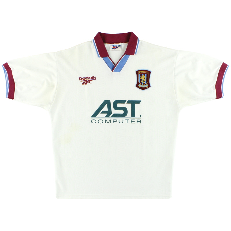 1996-98 Aston Villa Reebok Away Shirt M - 961772