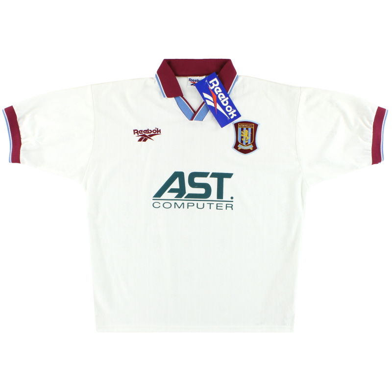 1996-98 Aston Villa Reebok Away Shirt *w/tags* L - 961772