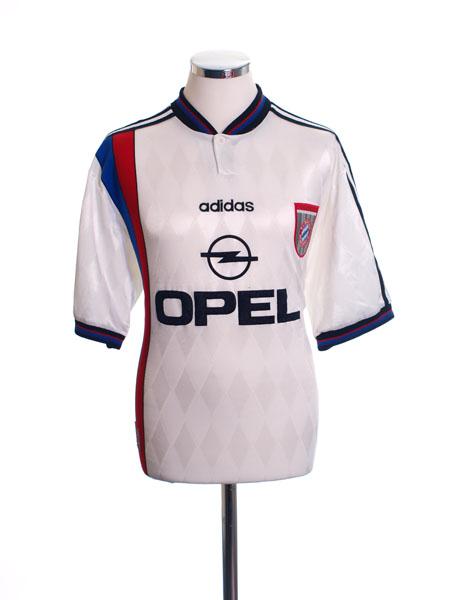1996-98 Bayern Munich Away Shirt L