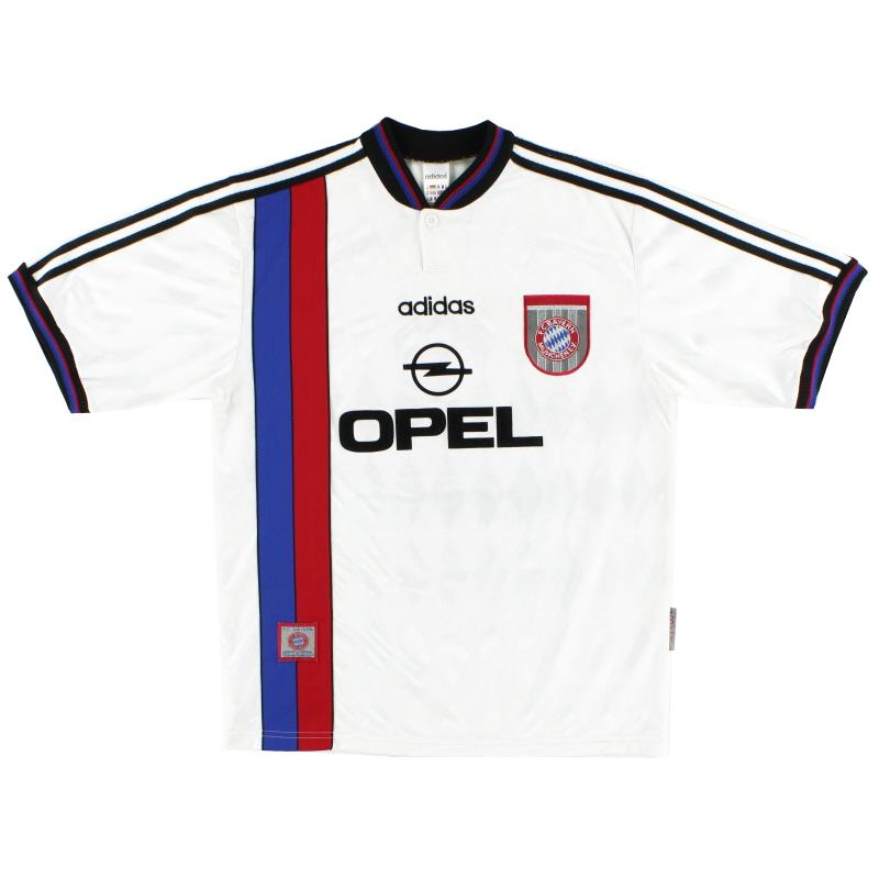 1996-98 Bayern Munich adidas Away Shirt XL