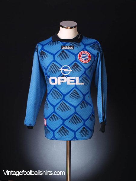 1996-98 Bayern Munich Goalkeeper Shirt L