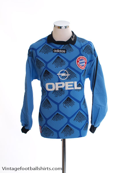 1996-98 Bayern Munich Goalkeeper Shirt *BNIB* L