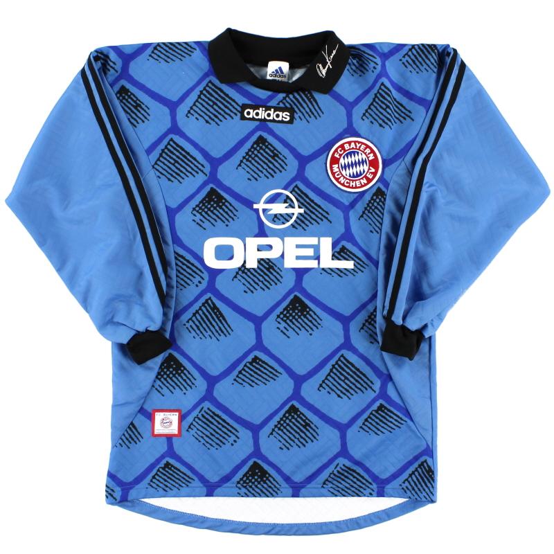 1996-98 Bayern Munich Goalkeeper Shirt *As New* S