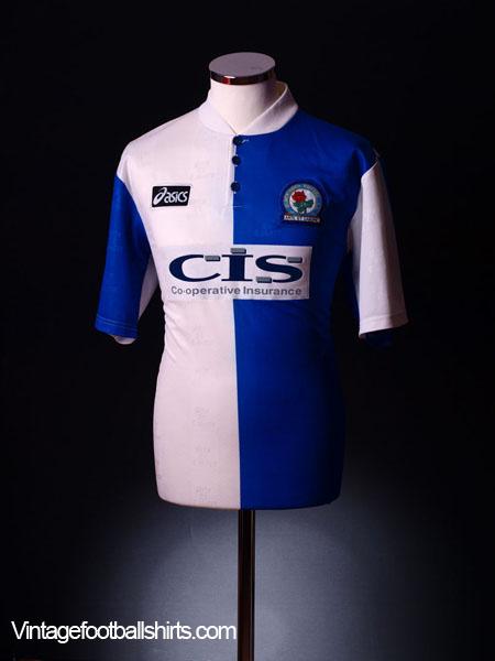 1996-98 Blackburn Home Shirt LB