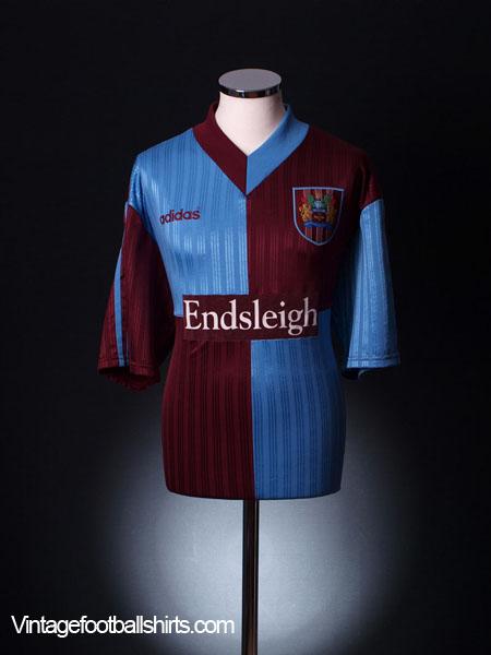 1996-98 Burnley Home Shirt XL