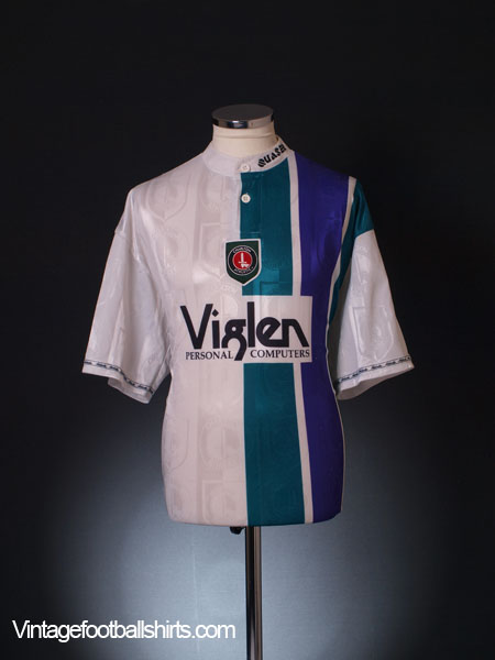 1996-98 Charlton Away Shirt XL