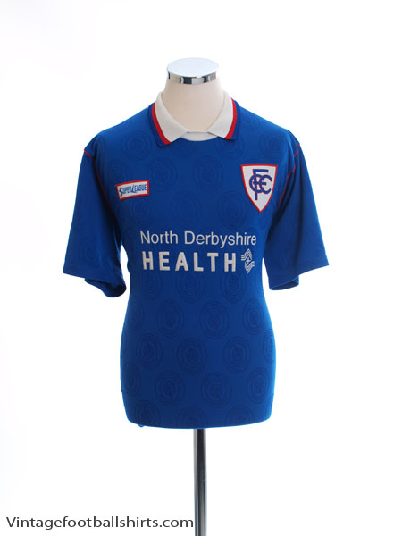1996-98 Chesterfield Home Shirt *Mint* L