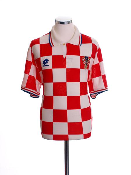 1996-98 Croatia Home Shirt L