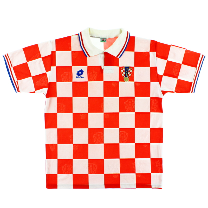 1996-98 Croatia Home Shirt XL