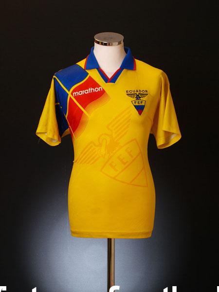1996-98 Ecuador Home Shirt M