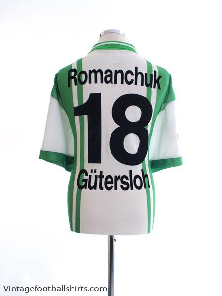 1996-98 FC Gutersloh Home Shirt Romanchuk #18 XL