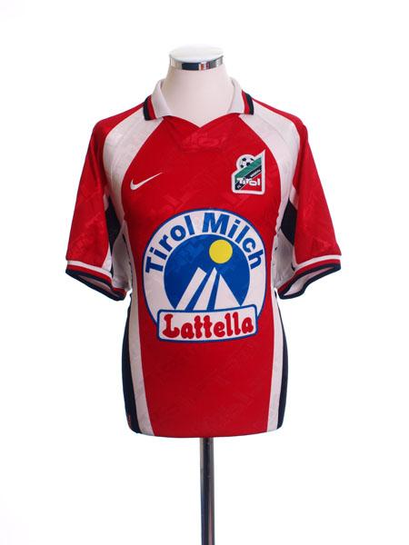 1996-98 FC Tirol Innsbruck Home Shirt L
