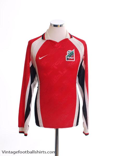 1996-98 FC Tirol Innsbruck Home Shirt L/S M