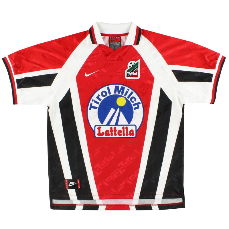 1996-98 FC Tirol Innsbruck Nike Home Shirt *Mint* M