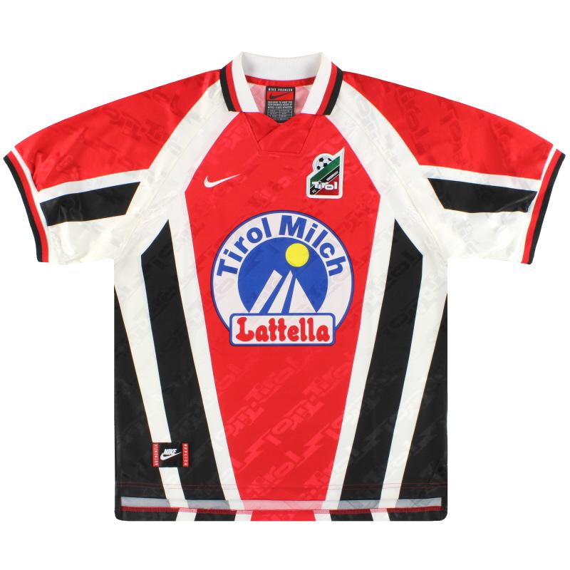 1996-98 FC Tirol Innsbruck Nike Home Shirt *Mint* XL