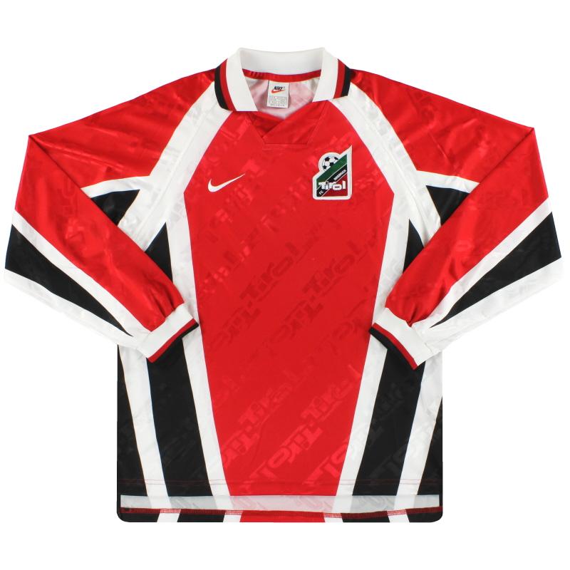 1996-98 FC Tirol Innsbruck Nike Home Shirt L/S M