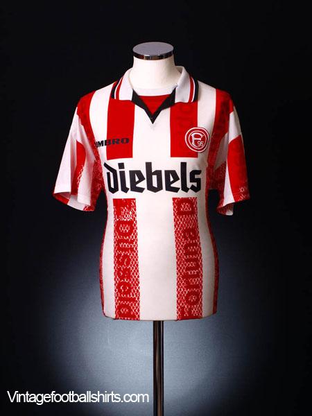 1996-98 Fortuna Dusseldorf Home Shirt L