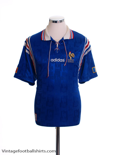 1996-98 France Home Shirt L