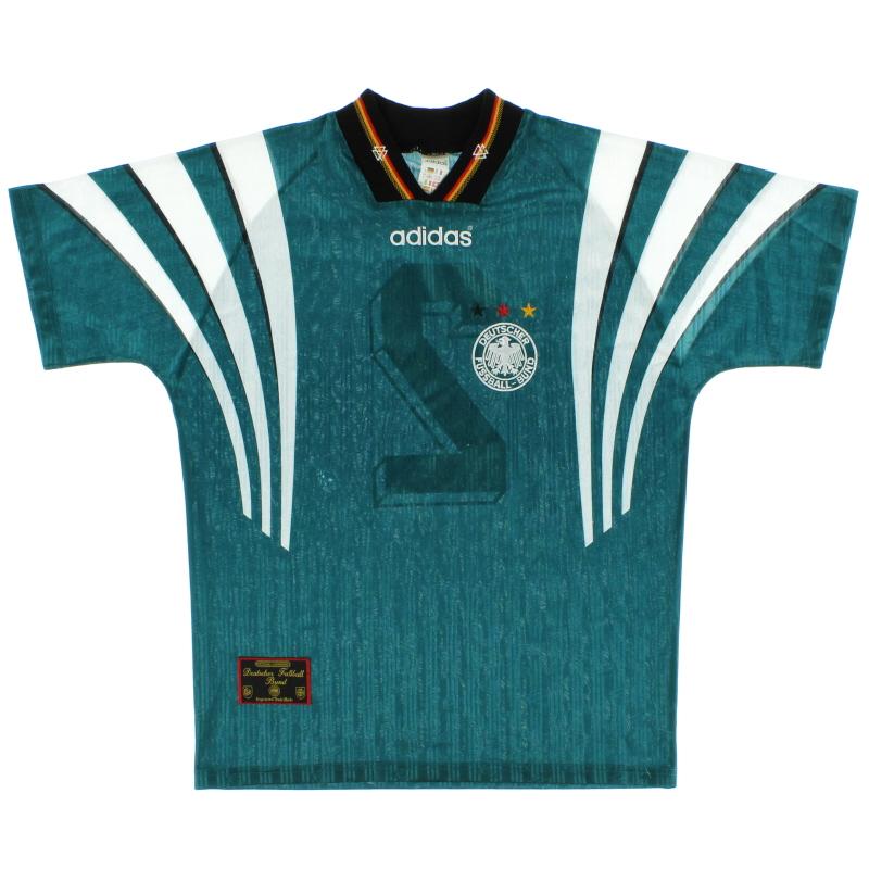 1996-98 Germany Away Shirt #2 M