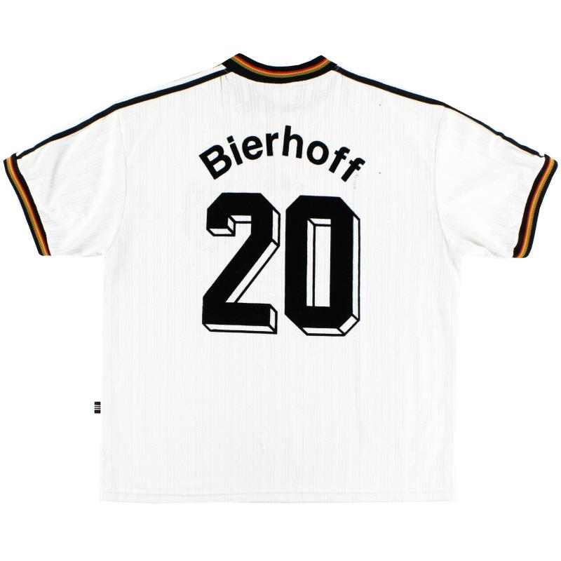 1996-98 Germany Home Shirt Bierhoff #20 XXL