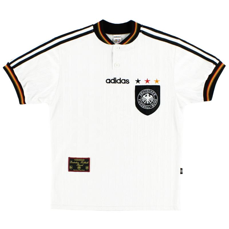 1996-98 Germany adidas Home Shirt L - 097873