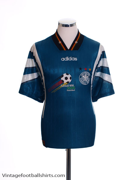 1996-98 Germany WM2006 Away Shirt S