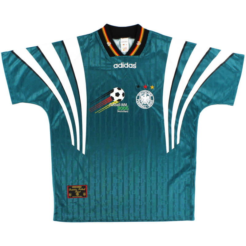 1996-98 Germany adidas WM2006 Away Shirt L