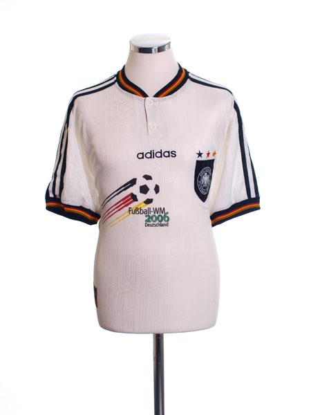 1996-98 Germany WM2006 Home Shirt *Mint* M