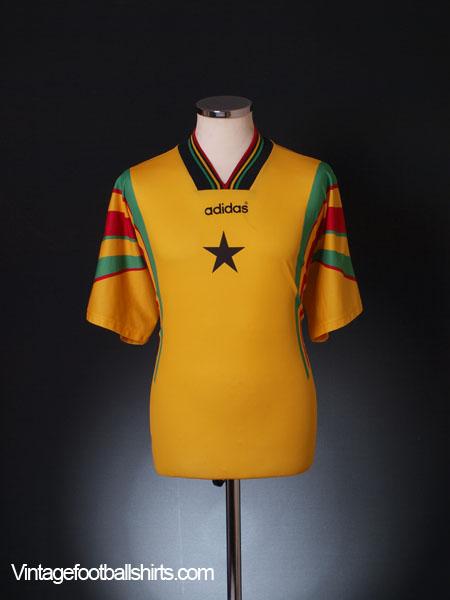 1996-98 Ghana Home Shirt L