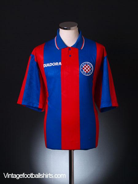 1996-98 Hajduk Split Away Shirt L